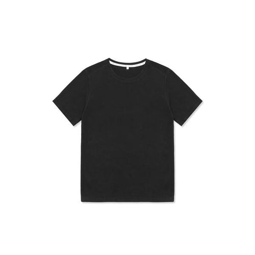 Tubular Crew Neck 2 Pack Black