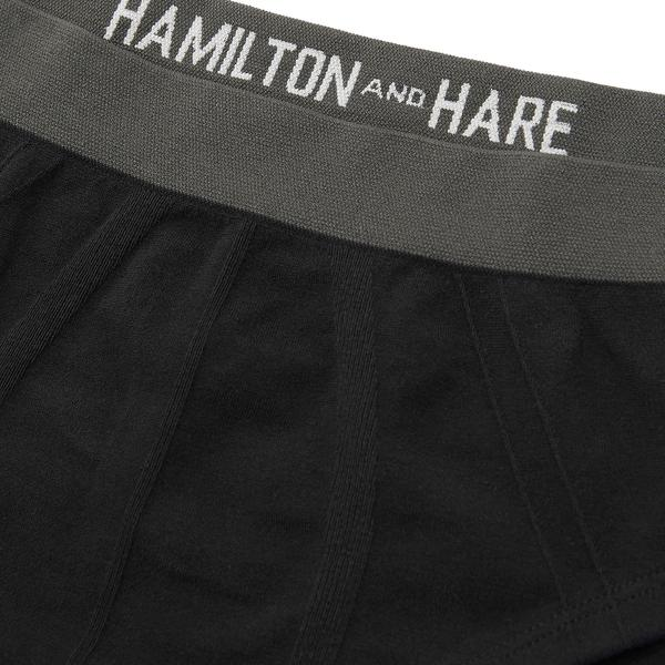 Working Week 5 Pack Tubular Slips - Black - Hamilton and Hare Ltd