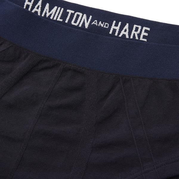 Working Week 5 Pack Tubular Slips - Navy - Hamilton and Hare Ltd