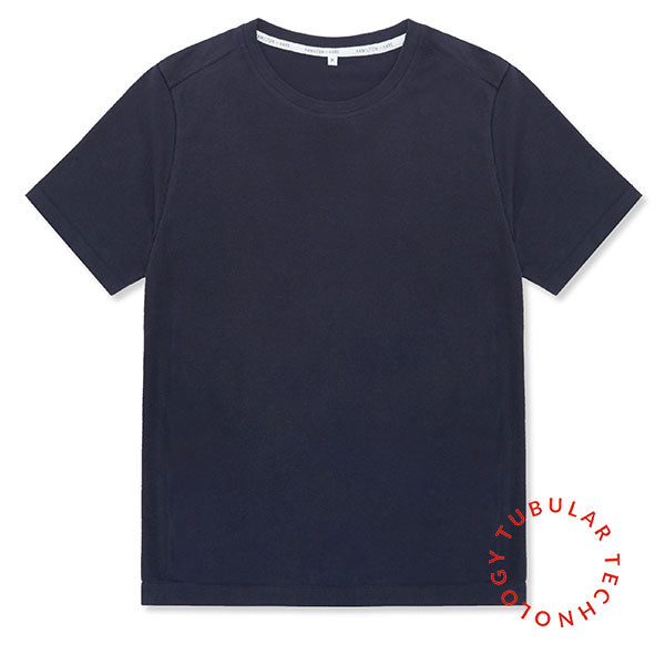 Tubular Crew Neck 2 Pack Navy