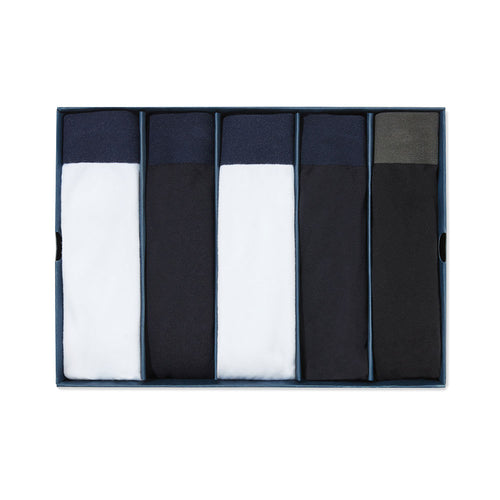 Tubular Slip Box Set - White, Navy, Black - Hamilton and Hare Ltd