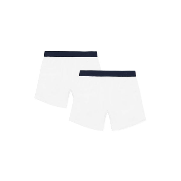 2 Pack White Tubular Trunks
