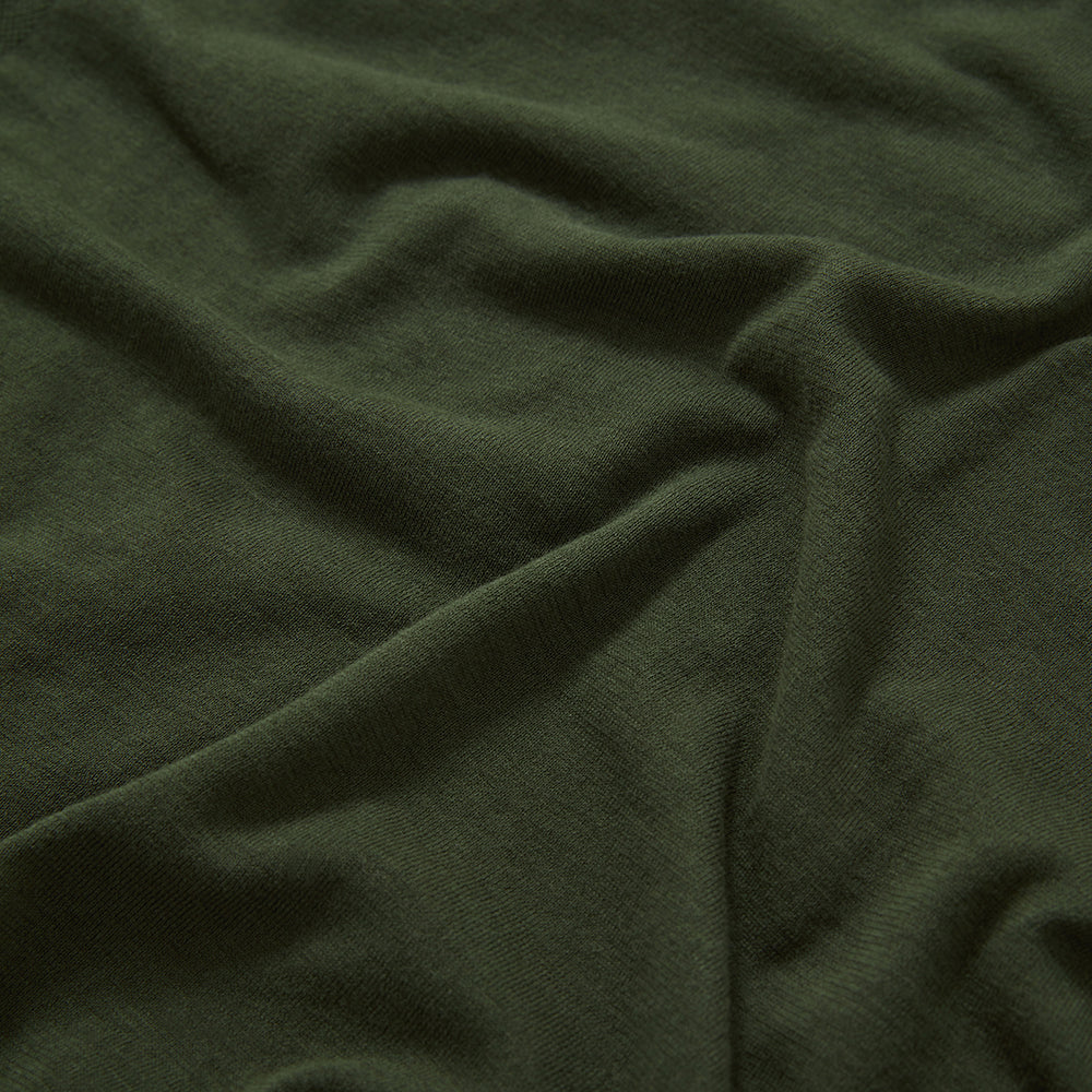 Seamless T-Shirt - Olive Green