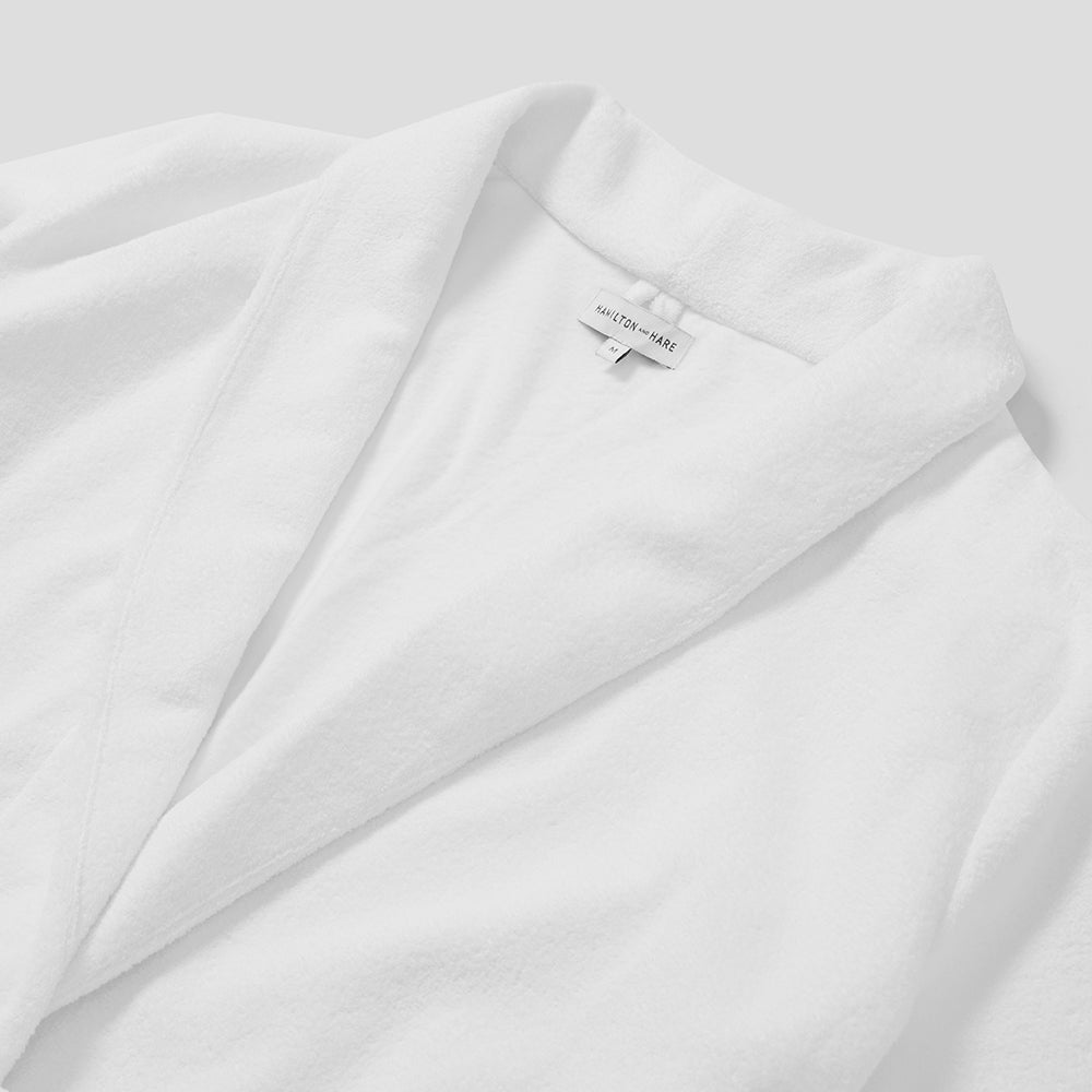Relax Robe - White Towelling