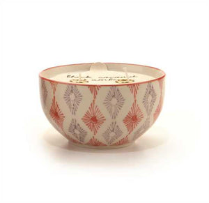 Passionfruit & Guava Boheme 7 Oz Hand Painted Bowl