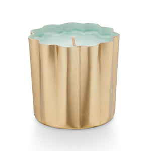 Sugared Blossom Mini Metal Candle
