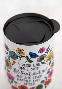 Wise Girl Wine Tumbler