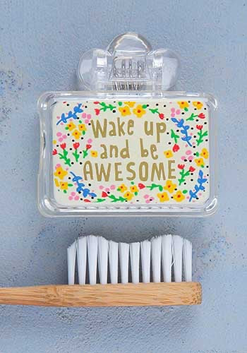 Wake Up Toothbrush Cover
