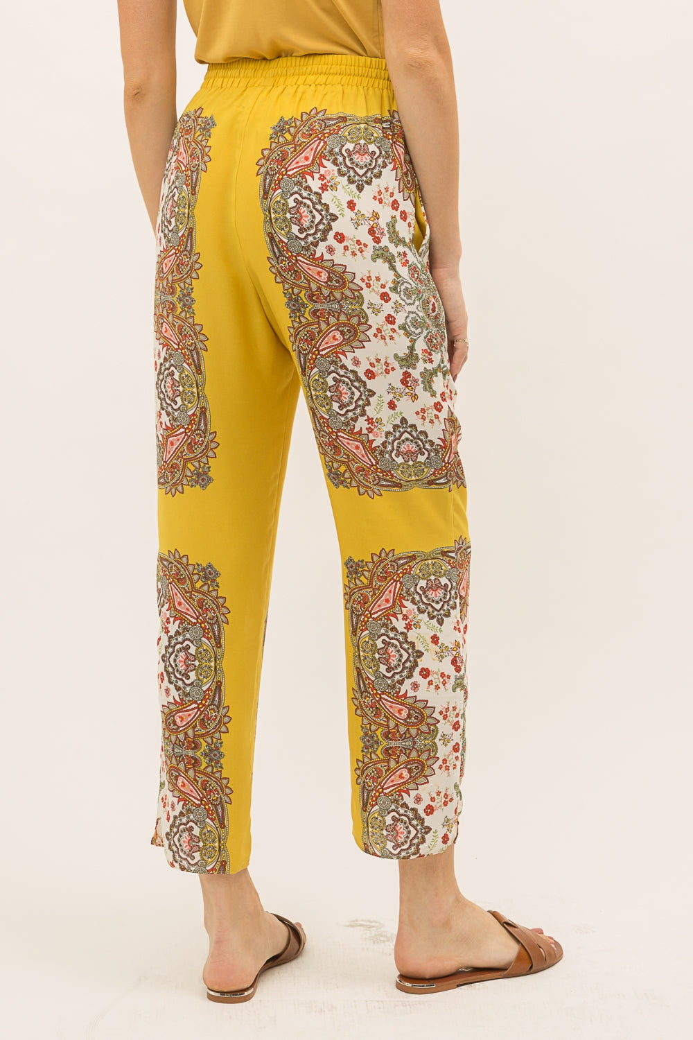 Scarf Print Lounge Pants
