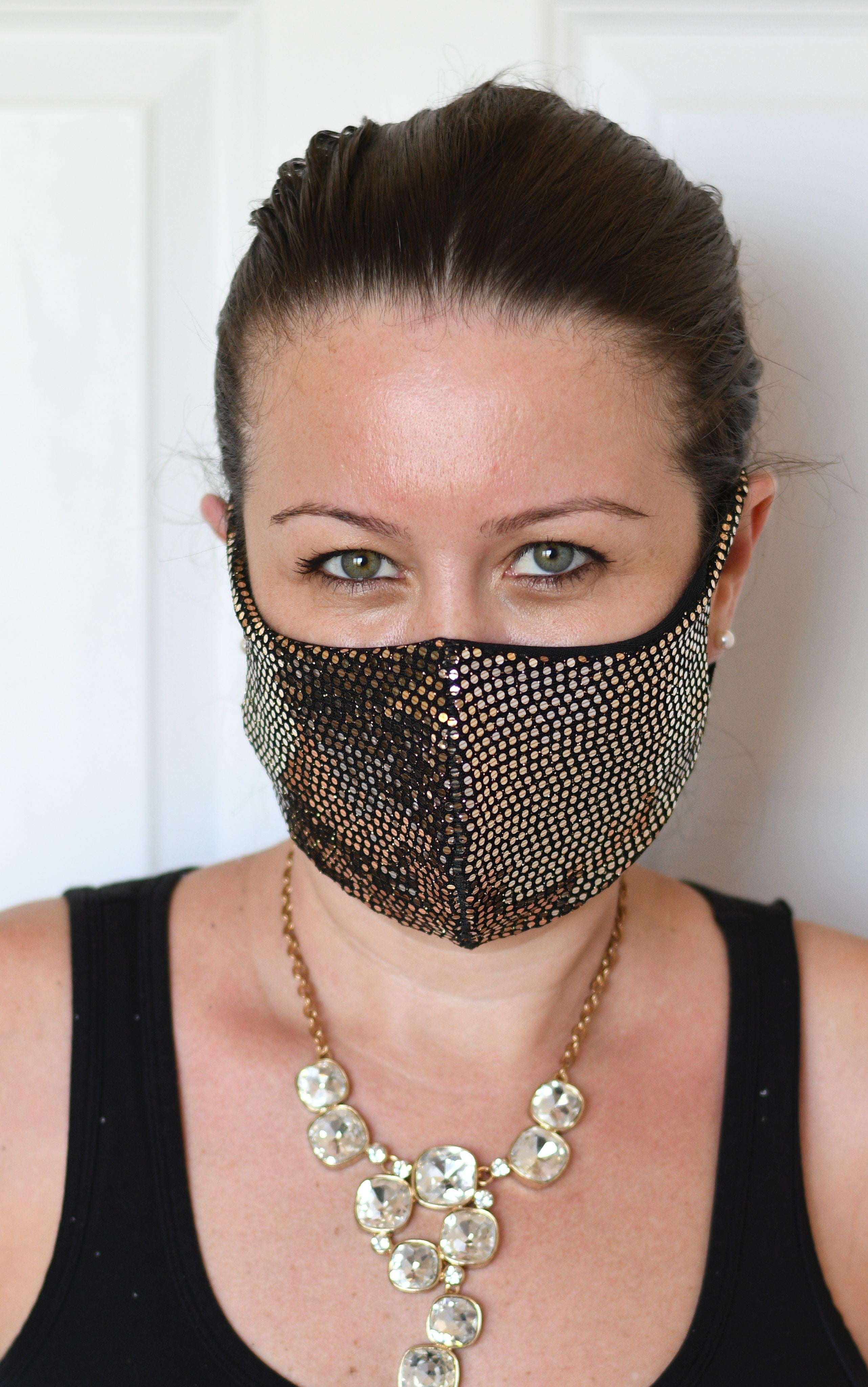 Gold Dots Single Layer Mask