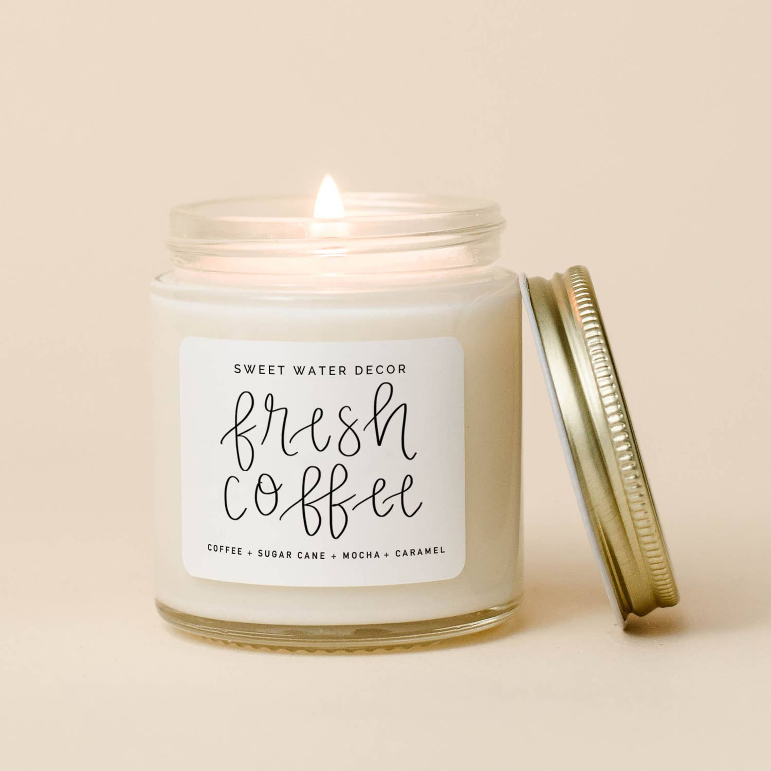 Fresh Coffee Mini Soy Candle