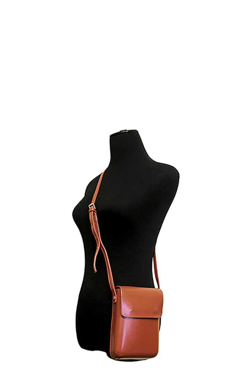 Leather Mini Crossbody Bag