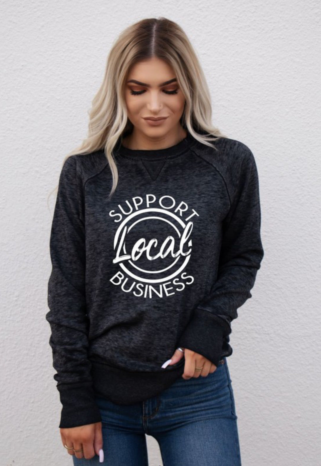 Support Local Sweatshirt