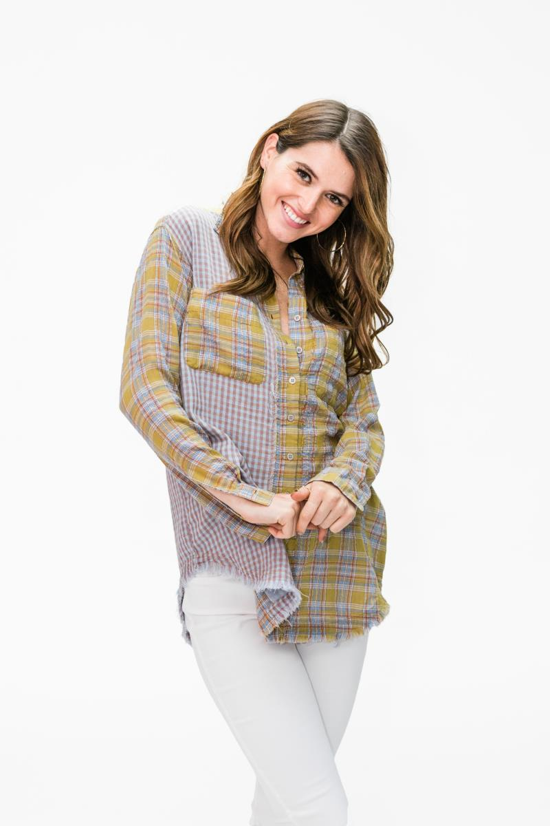 Golden Plaid Shirt