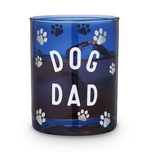 Dog Dad Cocktail Glass