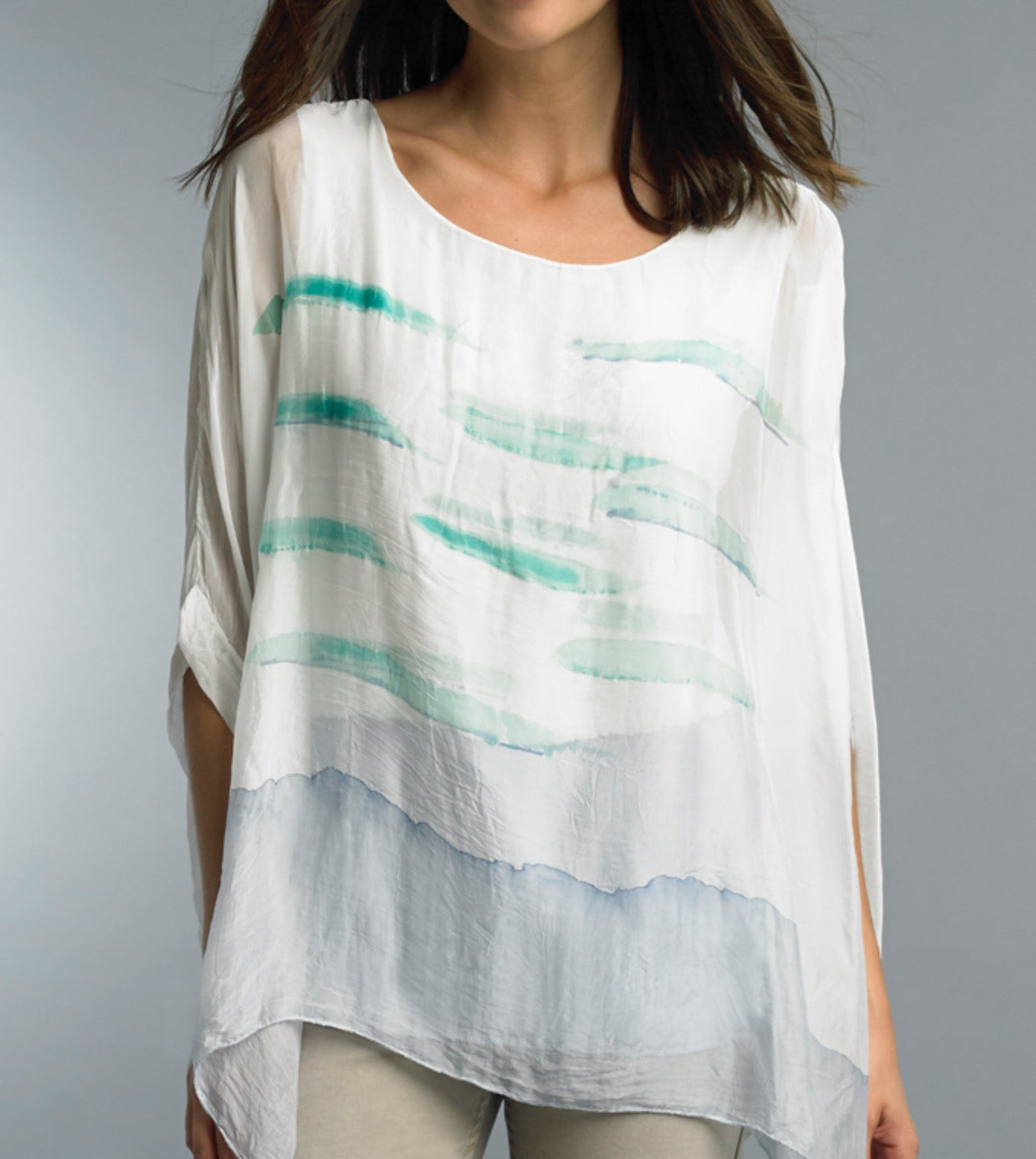 Watercolor Loose Top