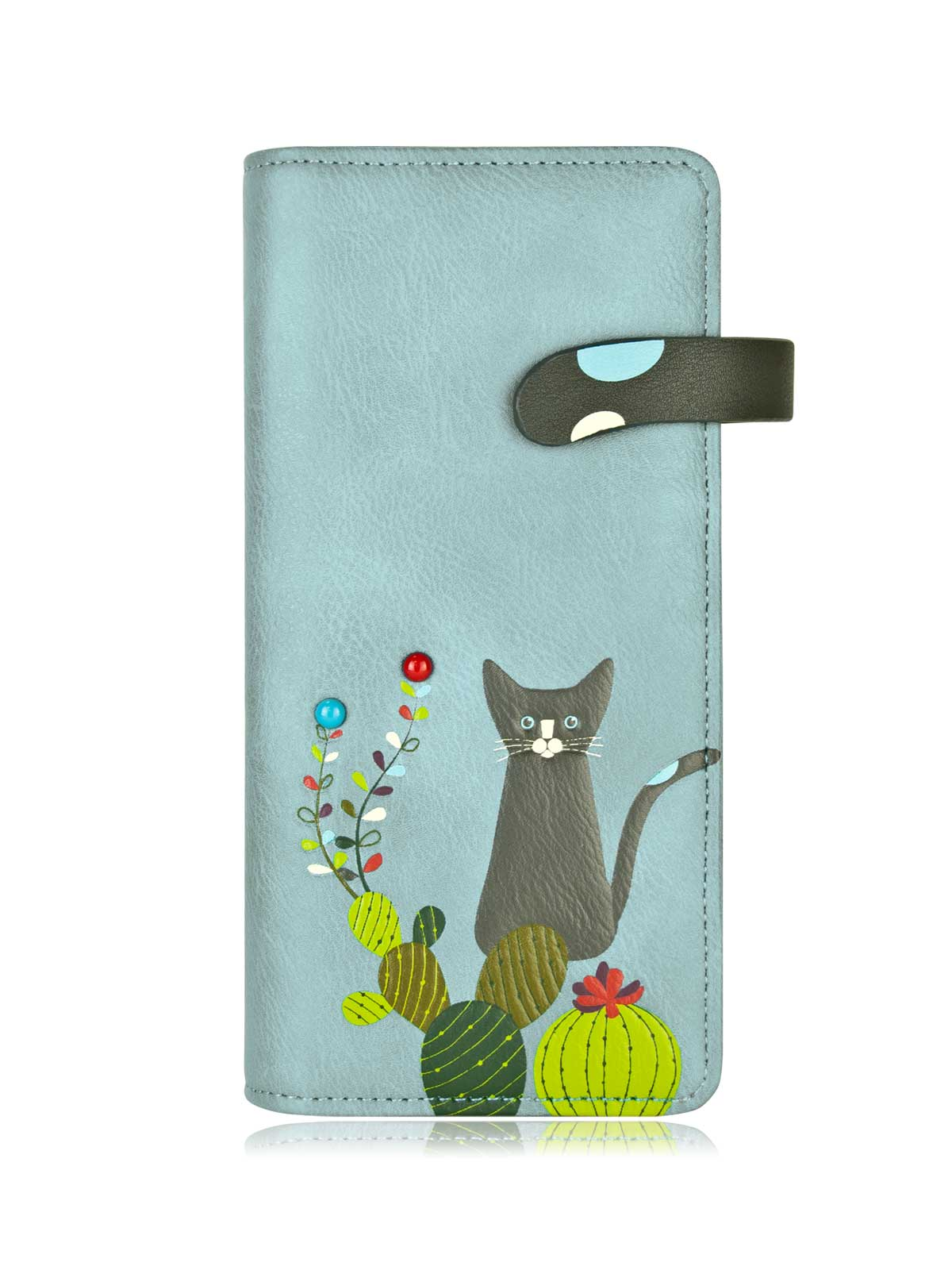 Catus Long Wallet