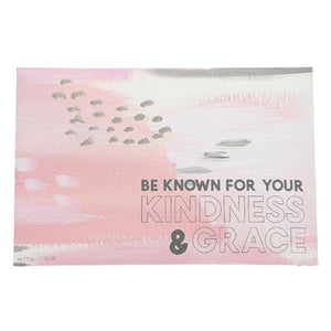 """BE KNOWN"" Inspirational Quote Sweet Grace Scented Sachet"