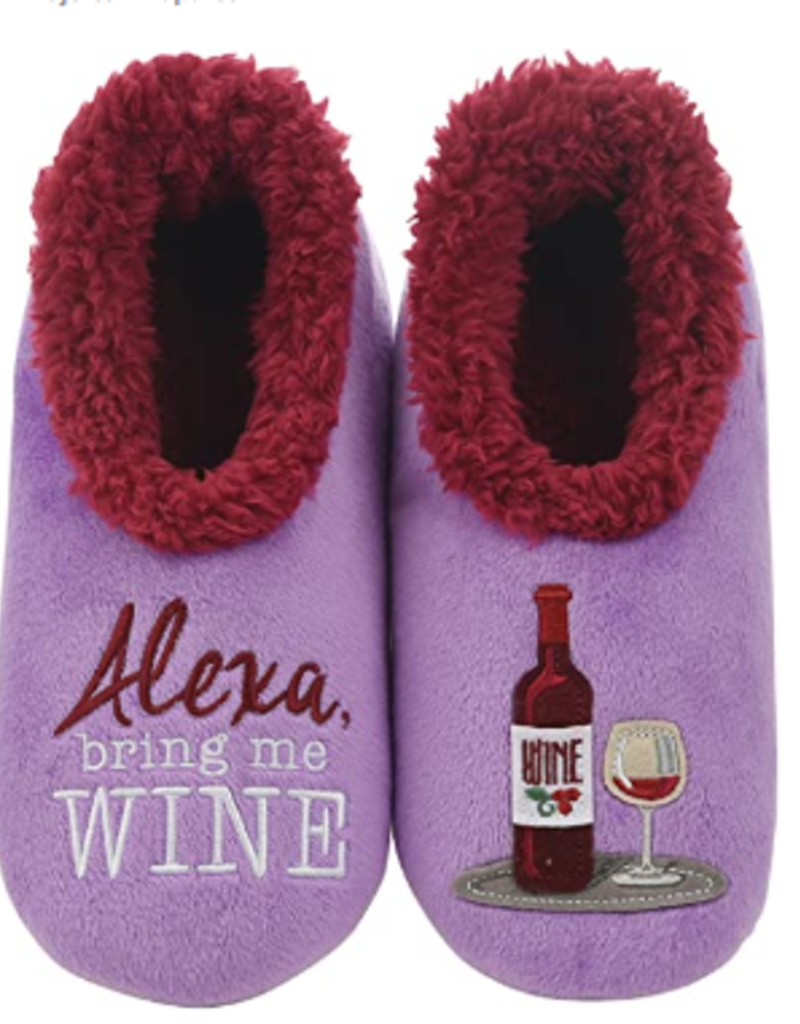 Women's Alexa, Bring Me Some Wine Simply Pairable Snoozies