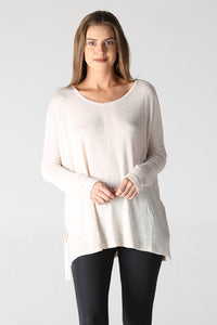 Light Knit Tunic Top