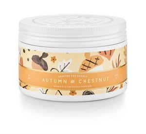 Tried & True Autumn Chestnut Small Tin Candle