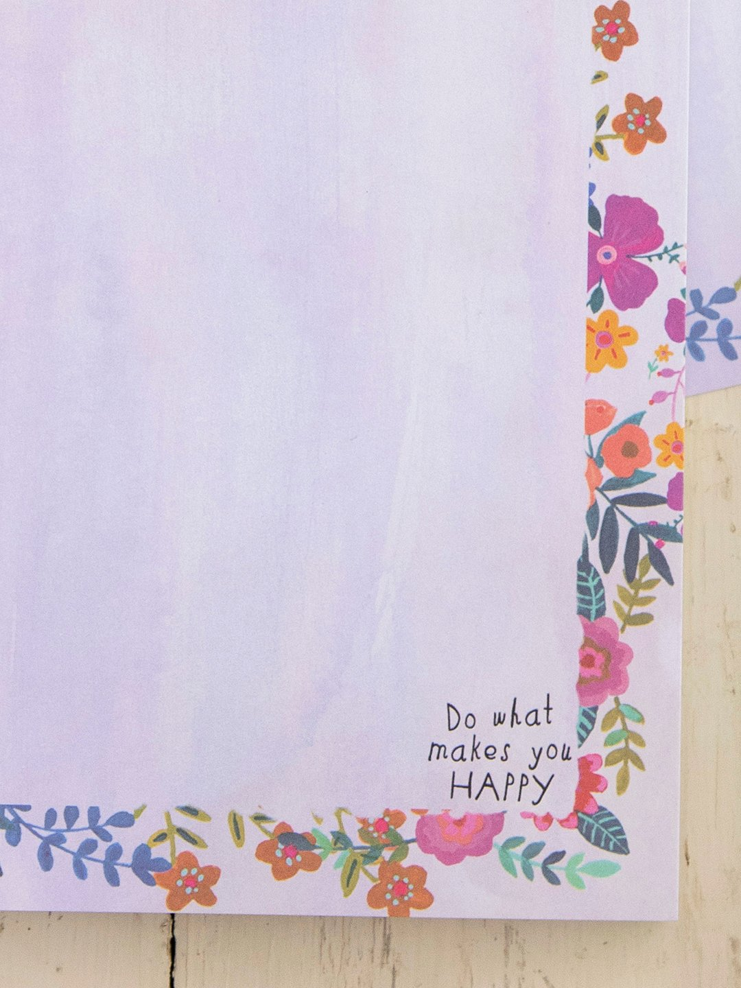 Do What Makes You Happy Notepad