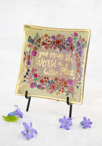 Better Place Glass Keepsake