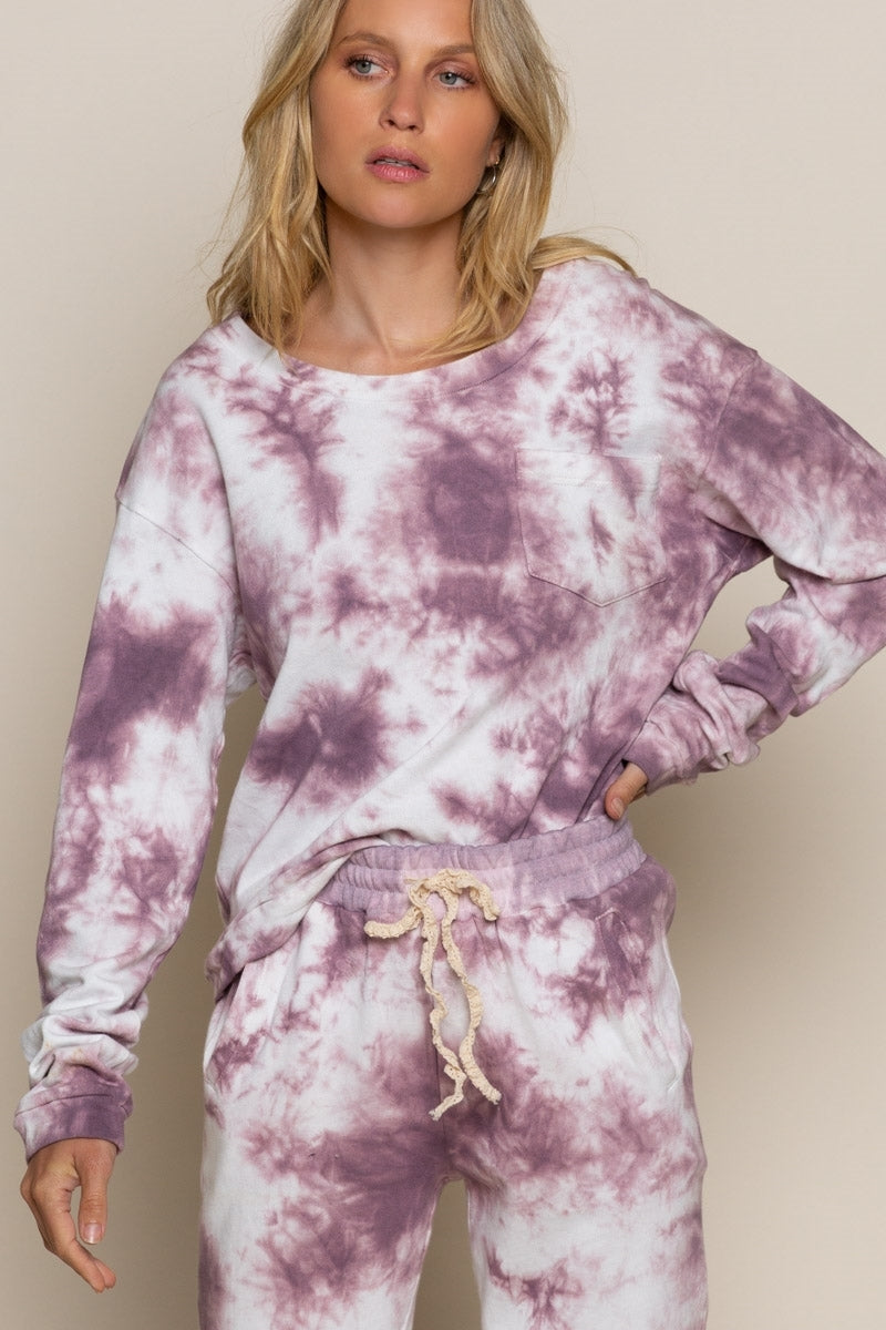 Obsessed Or Not Hand Dip Dye Sweatshirt