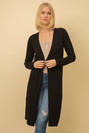 Button Up Maxi Cardigan