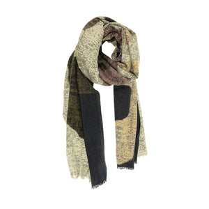 Textured Abstract Scarf