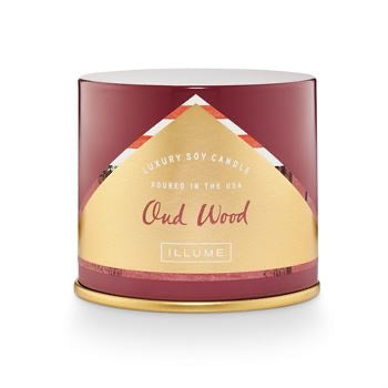 Oud Wood Vanity Tin Candle