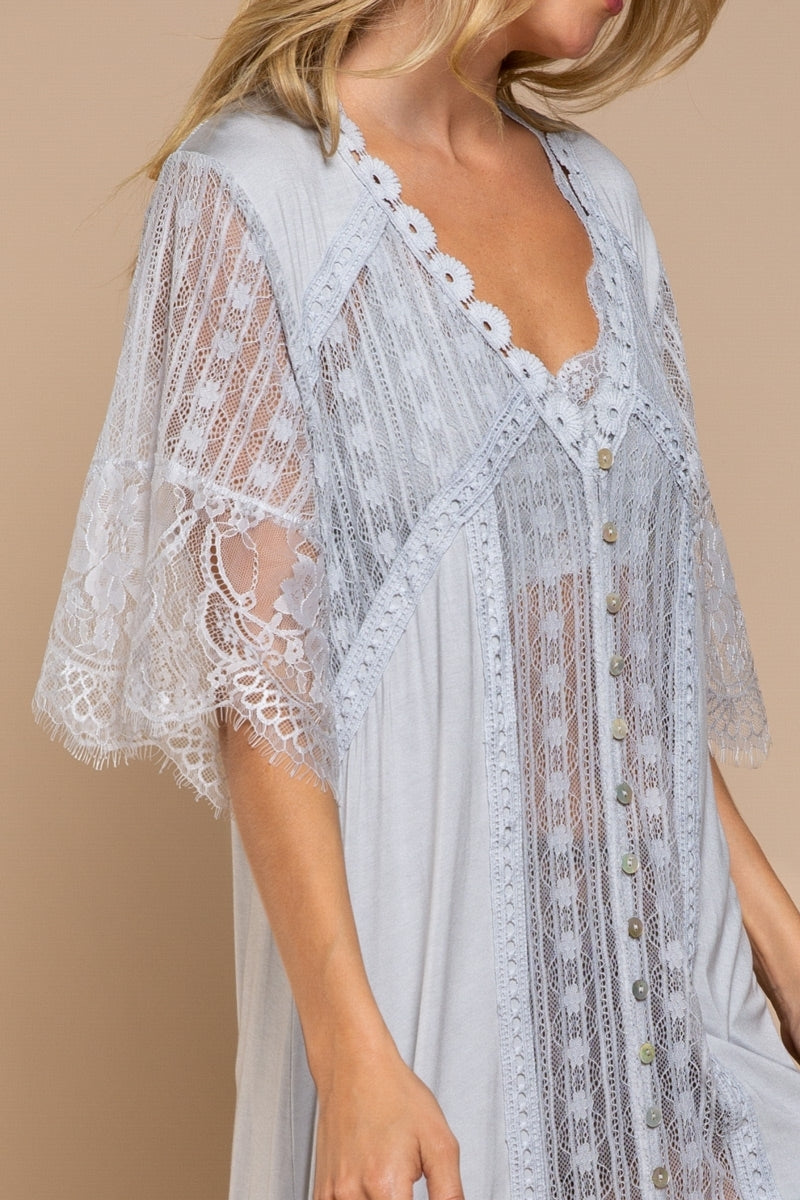 In The Garden Lace Cardigan Top