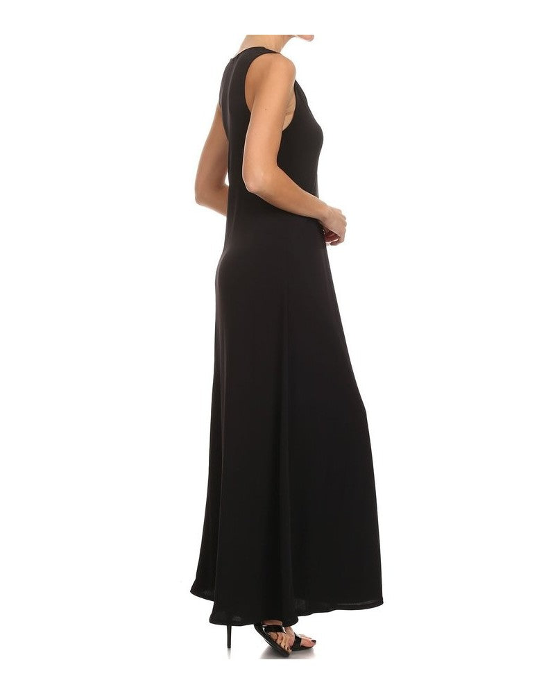Zipper Maxi Dress