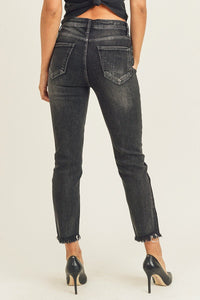 High Waist Vintage Relaxed Fit Jeans