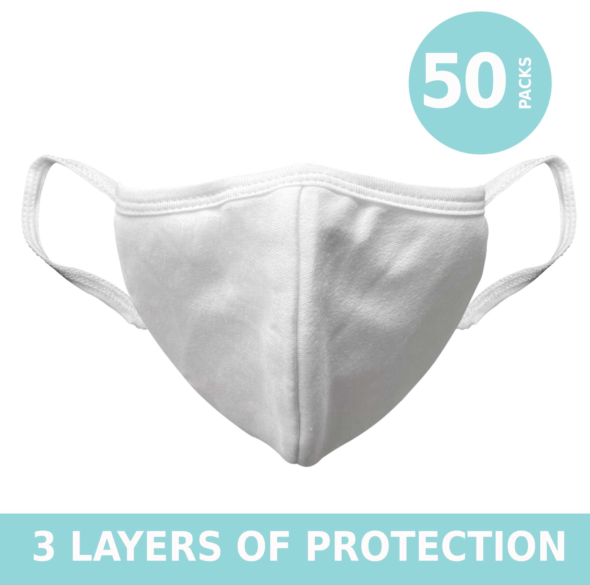 Cloth Face masks 3 layers of protection antibacterial washable reusable handmade with love