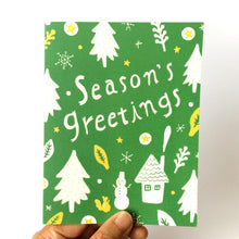 Load image into Gallery viewer, Season's Greetings Holiday Greeting Card
