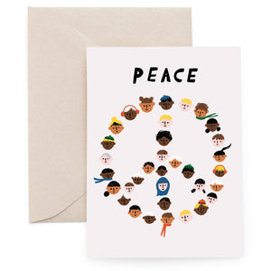 Peace Pals Holiday Card