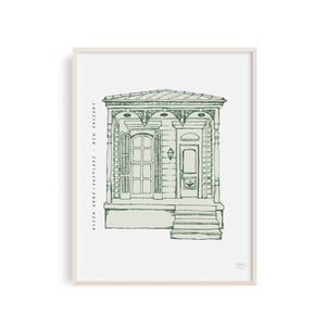 Queen Anne/Eastlake - New Orleans Art Print