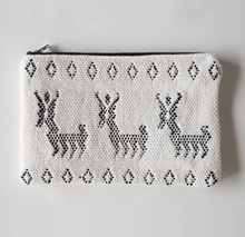 Load image into Gallery viewer, Handwoven Animal Zipper Clutch