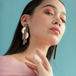Apollo Earrings | Blush