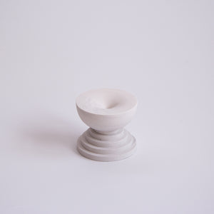 Scala Incense Burner | Light Marble