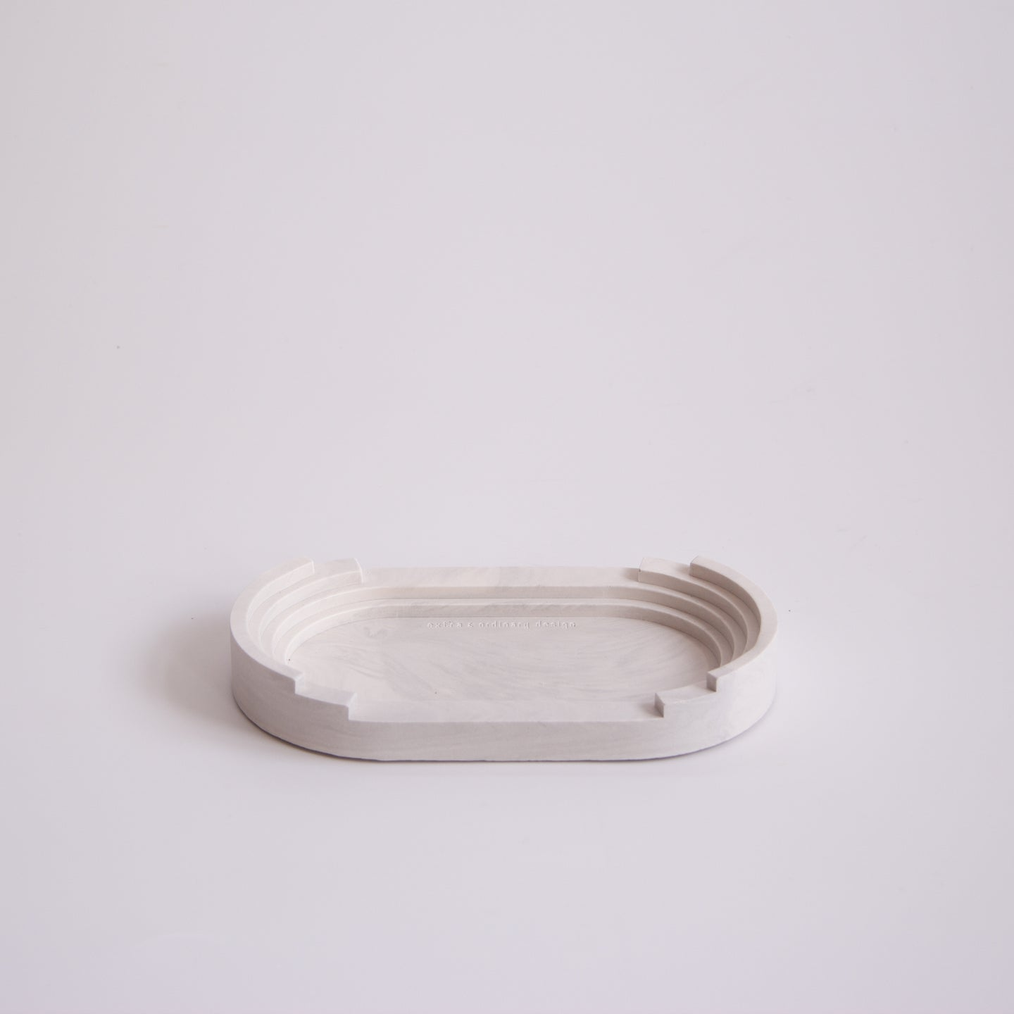 Scala Long Tray | Light Marble