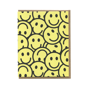 Smileys Greeting Card