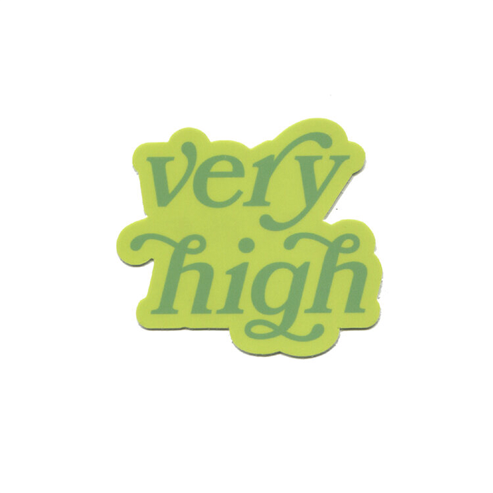 Very High Sticker