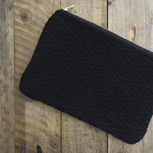Load image into Gallery viewer, Handwoven Diamond Pouch | Black