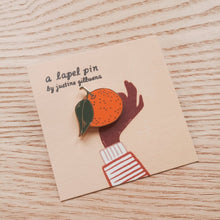 Load image into Gallery viewer, Clementine Enamel Pin