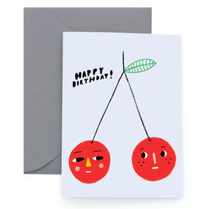 Cherry Bomb Greeting Card