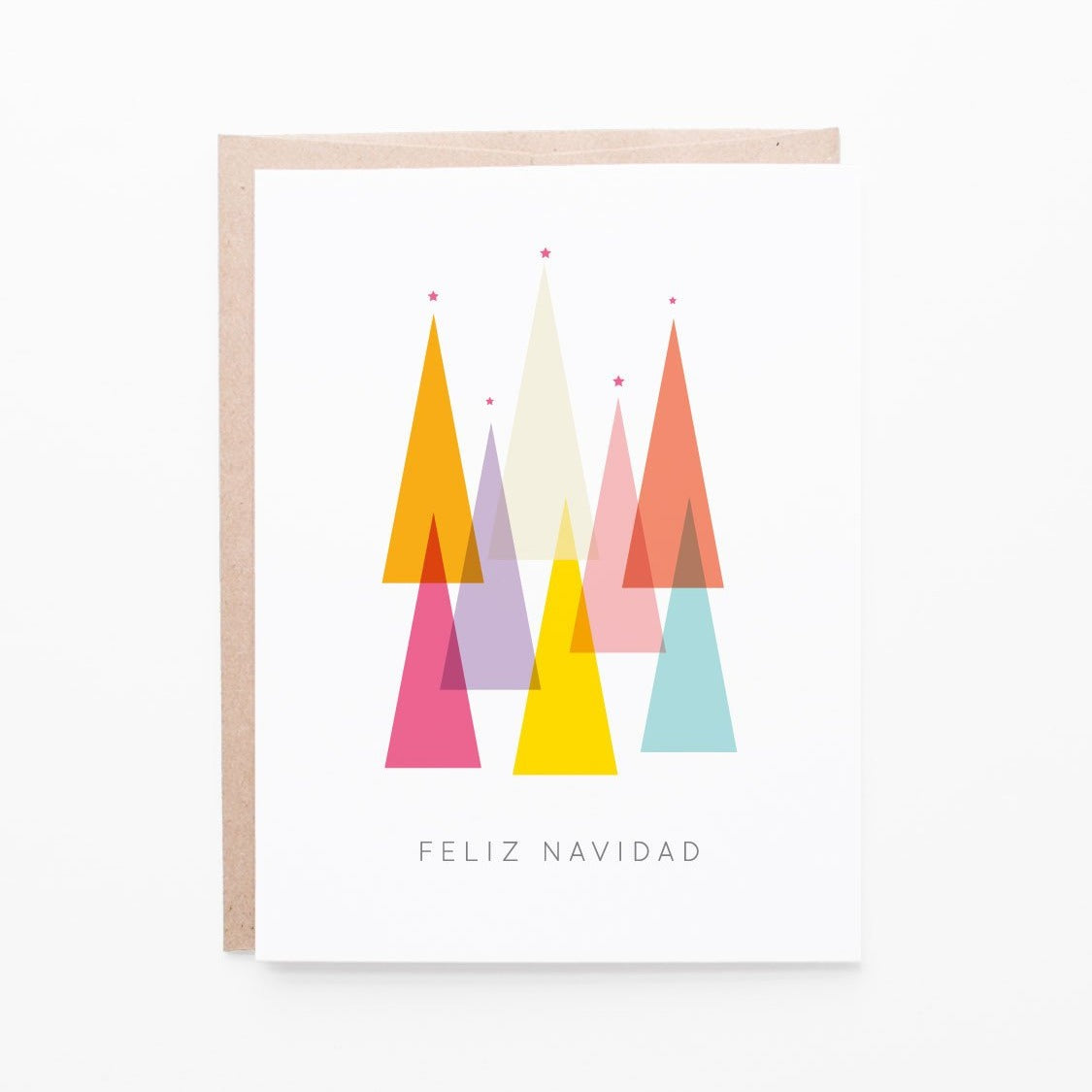 Feliz Navidad Christmas Card | single + set