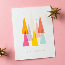 Load image into Gallery viewer, Feliz Navidad Christmas Card | single + set