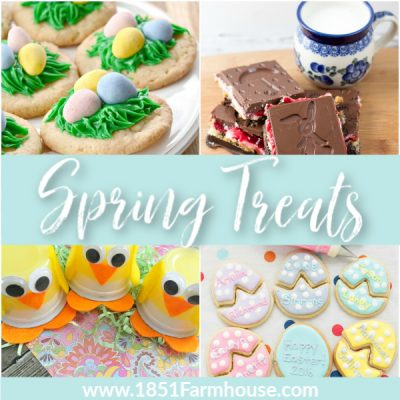 Spring Treats for the whole Family!